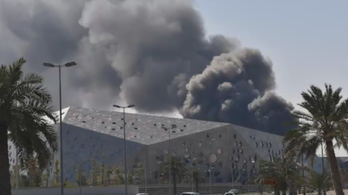 Tűz ütött ki a vadonatúj kuvaiti operaházban