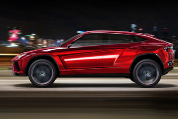 Áprilisban indul a terep-Lamborghini gyártása