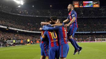 3 piros, nem lesgól, kihagyott büntető: drámai visszavágó után kupadöntős a Barca