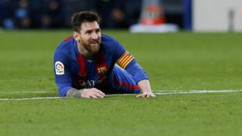 Messi élete szabadja volt. Pedig be sem ment