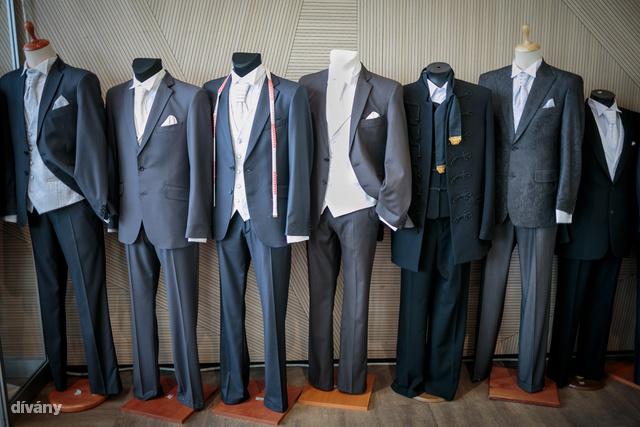 Valamiért az érzésünk, hogy a férfiaknál a szürke 50 árnyalata most a trendi. (Esküvő Kiállítás & Vásár - Gruopama Aréna)