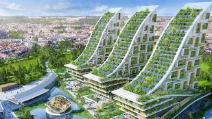 Az erdősített toronyházaké a jövő
