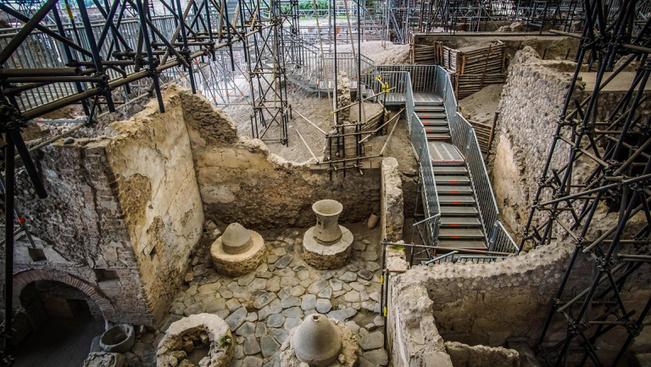 Négy napra megnyitják a híres pompeji ásatások terepét
