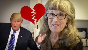 21 év után, Donald Trump miatt hagyta el a férjét