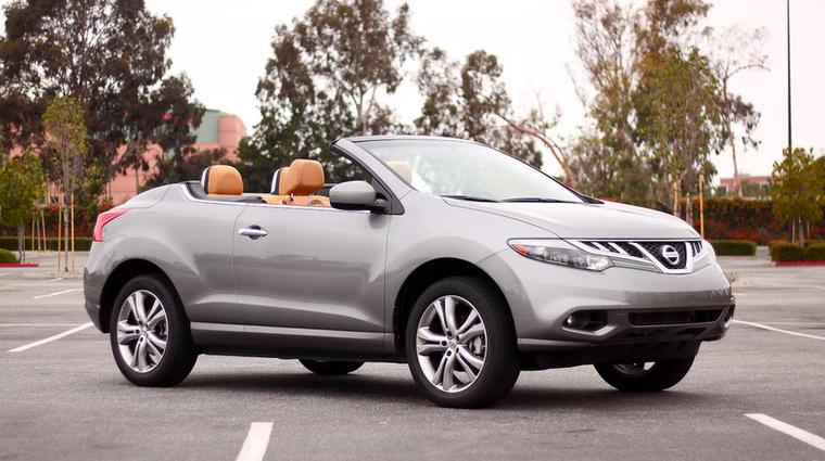 Nissan Murano CrossCabriolet (2010-2015) - Sipos úr és Rézmonyó is ilyennel indultak neki Amerikának, de az első lámpánál melegnek nézték őket