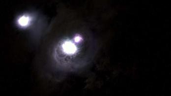 Titokzatos kék nyalábokról készült videó az űrállomáson