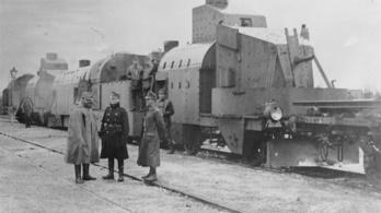 Amikor magyar vonatok voltak a csaták halálosztó urai