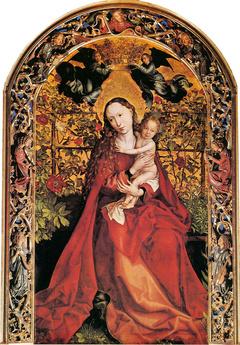 Martin Schongauer Madonna in Rose Garden
