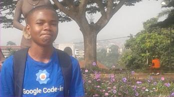 A kameruni programozóbajnok, akinél nincs otthon internet