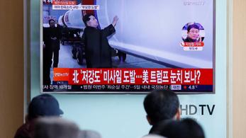 Észak-Korea fellőtt egy ballisztikus rakétát Japán felé