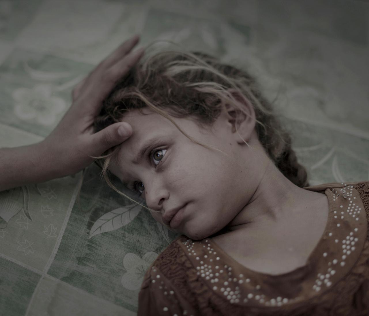 Emberek a hírekben (egyedi) I. helyAz ötéves Maha a családjával menekült Moszulból, miután megindult a város visszafoglalására indított offenzíva az Iszlám Állam ellen.