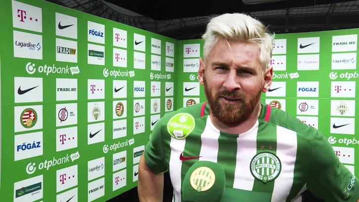 Lionel Messi, a Ferencváros játékosa nyilatkozik a Fradi TV-nek