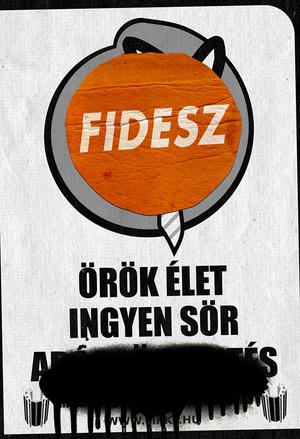 Kormányzati plakát az ingyen sör bevezetéséről