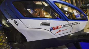 Dubajban már tesztelik a kínai taxidrónt