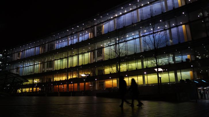 Este az Antall József épület a legszebb az EP 13 brüsszeli épülete közül.