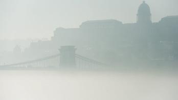 Megint szmogos a levegő Budapesten