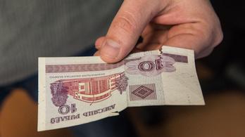 Forint helyett belarusz rubelt kapott egy svájci nő