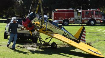 Harrison Ford majdnem repülőbalesetet okozott