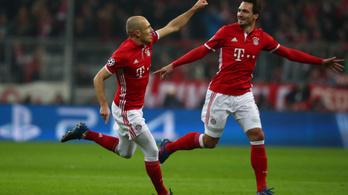 A Bayern megsemmisítette az Arsenalt, a Real hozta, amit kell