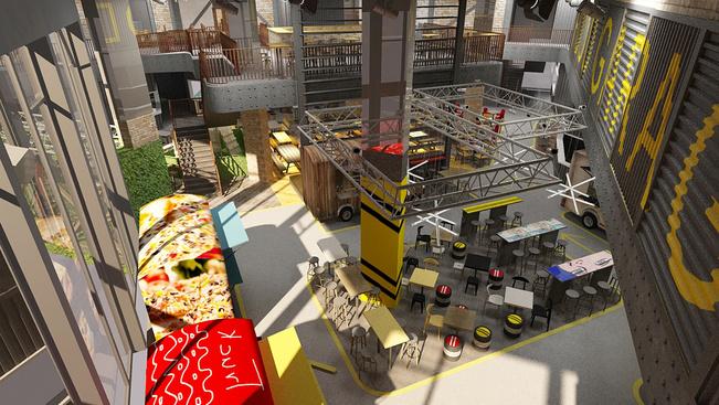 Óbudán nyílik hazánk első street food plázája