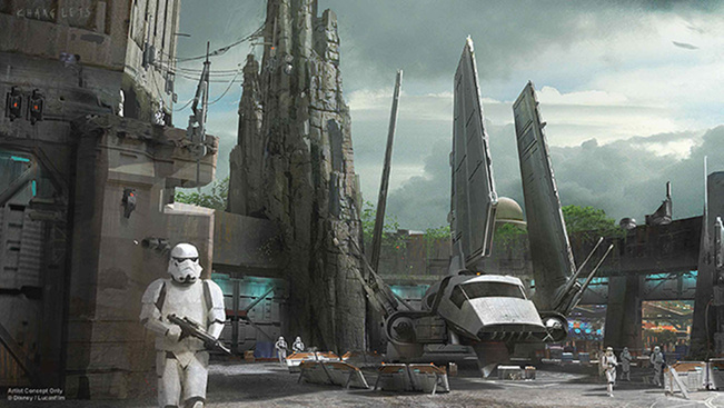 2019-ben nyílik a Star Wars élménypark