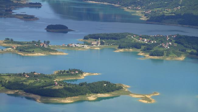 Kiszáradt a 12 km hosszú Ramsko-tó
