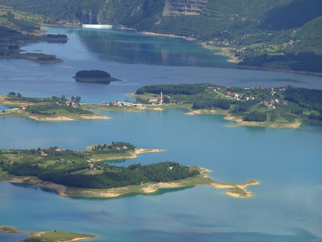 2007-es fotó a Ramsko-tóról