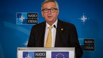 Juncker: Európa ne adja be a derekát Trumpnak!
