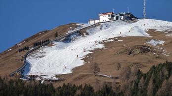 A téli sportoknak is keresztbe tesz a globális felmelegedés
