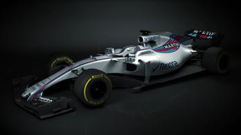 Bemutatták az első 2017-es F1-autót