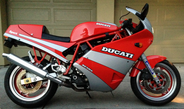 Szerintem az egyik legidőtállóbb motor, amit a Ducati készített - harminc év múlva beszélgetünk róla, hogy igazam lett-e. De nem merem