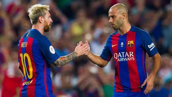 Egy játékos nagyobb, mint a Barca