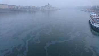 Titokzatos olajfoltok a Dunán