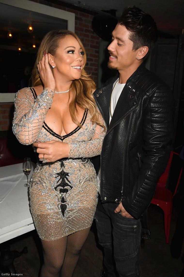 Bryan Tanaka és Mariah Carey