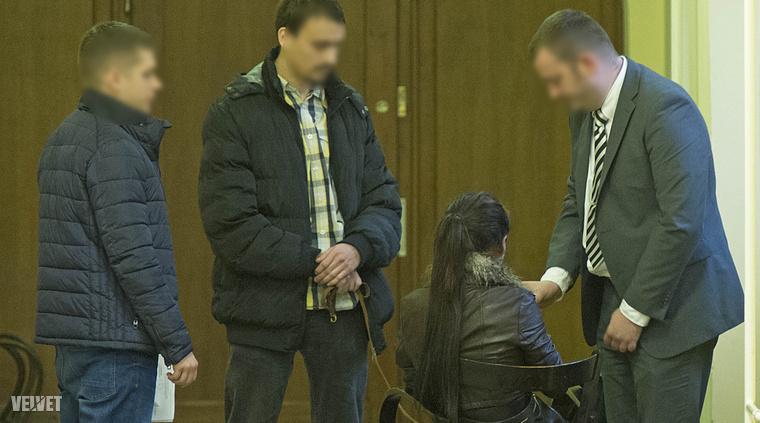 A gyanúsított a bíróságon