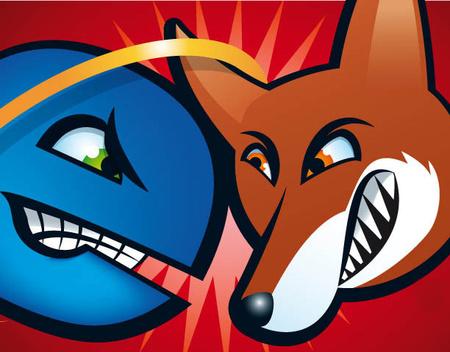 Explorer vs. Firefox. A két legnépszerűbb böngésző a két leglassabb is?