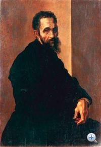 Michelangelo Jacopino del Conte festményén. Autista volt?