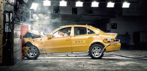 mercedes crash test mammogram