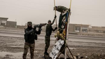 A végéhez közeledik Moszul ostroma