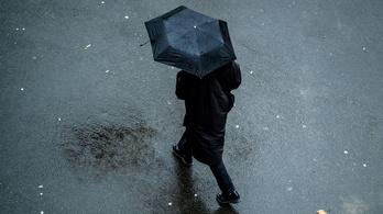 Jön a felmelegedés, és vele az eső
