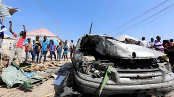 Óriási robbantás gyilkolt Szomáliában
