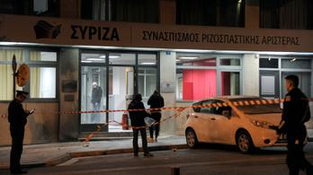 Molotov-koktélt dobtak a Sziriza székházára
