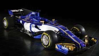A Sauberé a második 2017-es F1-autó