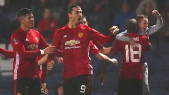 Zlatan hihetetlen, már Messi és C. Ronaldo közé férkőzött