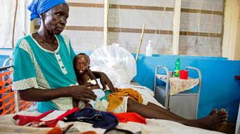 Százezrek éheznek Dél-Szudánban