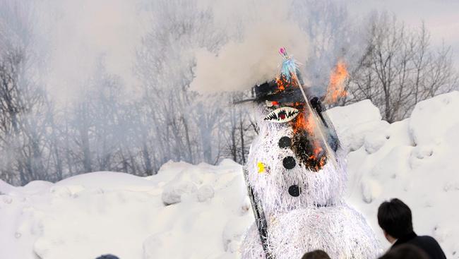 A telet hóemberégetéssel is el lehet űzni