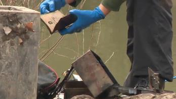 Bebetonozott hullát találtak egy hordóban Dunahidason
