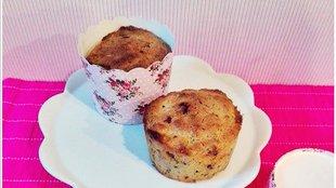 Kókuszos-csokis muffin csak egészséges hozzávalókból