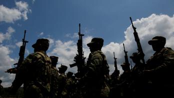 Nagypályás drogfogás a kolumbiai dzsungelben