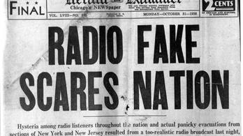 A média történetének leghíresebb tömegpánikja csak egy városi legenda